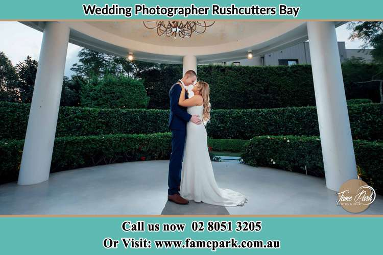Bride and Groom dance at the garden Rushcutters Bay NSW 2011