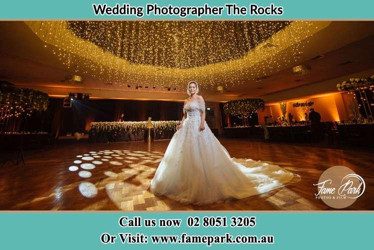 Bride in the dance floor Surry Hills
