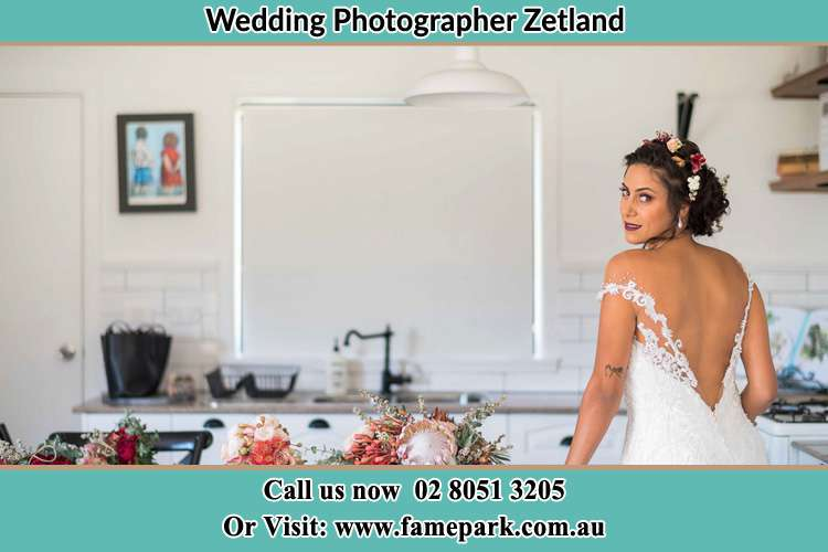 Bride already prepared the Zetland NSW 2017